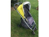 UPPAbaby Cruz Yellow Single Seat Stroller - cheap pushchair or holiday stroller