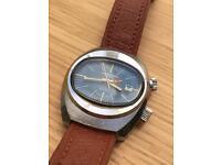 Vintage 1970's Memostar Alarm Men's Wristwatch