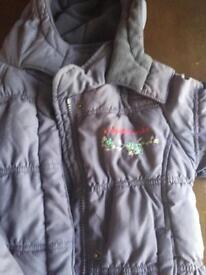 4-5 Girls winter coat John Rocha