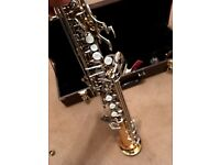 Saporano Saxophone used, hard case, Earlham,