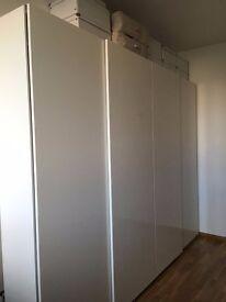 Beautiful Ikea wardrobe - 6 months old - Half price!