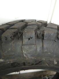 4 x 4 almost new tyre