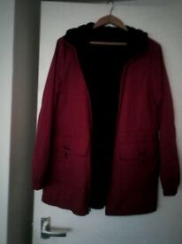 Reversible ladies jacket new condition size 12 £10