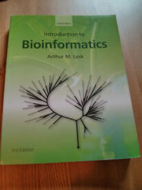 Introduction to Bioinformatics, 3rd edition