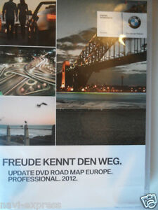 BMW DVD-SET Road Map Europa PROFESSIONAL  2012  E60 E61 E63 E64 E70