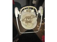 Mothercare loved so much baby travel swing
