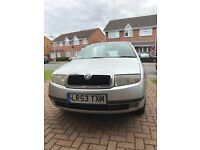 Skoda Fabia 1.8, Great runner, 10 months MOT, Available Friday 26th August