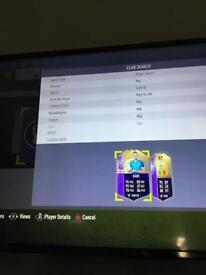 Fifa 18 account PS4 POTM KANE AND MANE