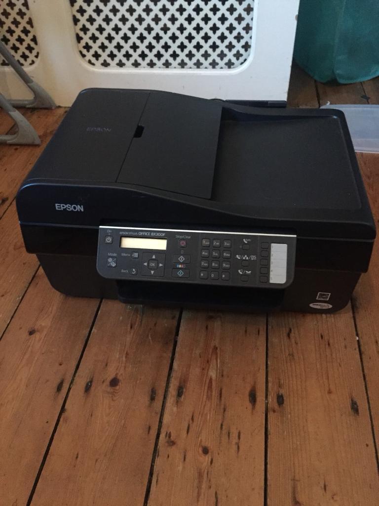 Epson Stylus Office BX300F inkjet printer and scanner
