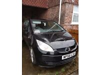 Black Diesel Mitsubishi Colt 2006 10 Months MOT passed without any problems
