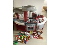 Large Miele toy kitchen - loads of extras