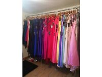 Wedding and bridesmaid dresses sizes 6-34 (extra length available 100s of styles available)