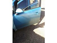vauxhall corsa d 5dr passengers front door