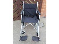 enegma folding wheelchair..excellent condition