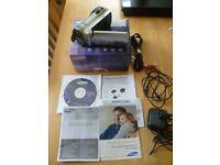 Samsung smx F50 Sp digital Camcorder (65x Intellizoom, 2.7inch LCD)- Silver