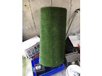 4m x1m roll of artificial grass