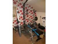 Heavy duty gym set