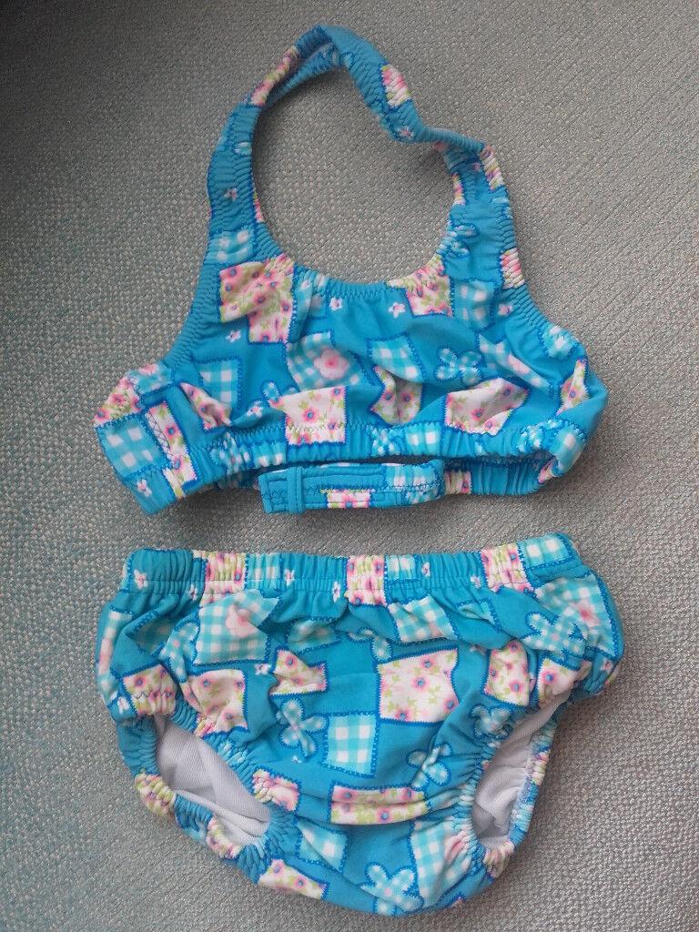 Zoggs swim nappy bikini 2-3 years