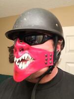 One of A Kind Leather Riding Masks By Sanctuary Masks.
