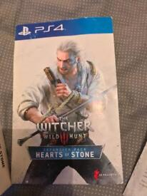 WITCHER 3 WILD HUNT EXPANSION AND GWENT