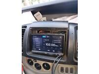 Pioneer double din touch screen