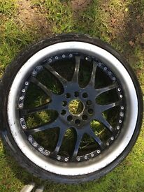Set of Alloy wheels *please read Info*