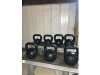 *RARE* Eleiko Kettlebell Set with Stand - Weights Kettlebells Crossfit Gym