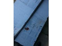 roof shees properylene sheets 2m x 1m