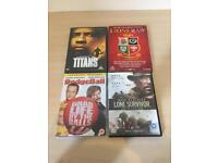 Old DVD film collection