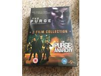 The Purge & The Purge: Anarchy box set - brand new sealed