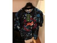 Kenzo H&M collaboration rare t-shirt sold out embroidered - Size: Large.