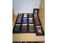 Zippo collection all brand new never fuelled or sparked