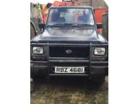 Daihatsu Fourtrak Fieldman TDS for parts