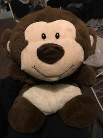 brown monkey teddy