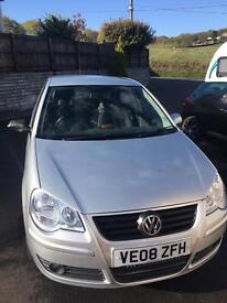 Volkswagen Polo 1.2 Match 08, 41,700 Miles