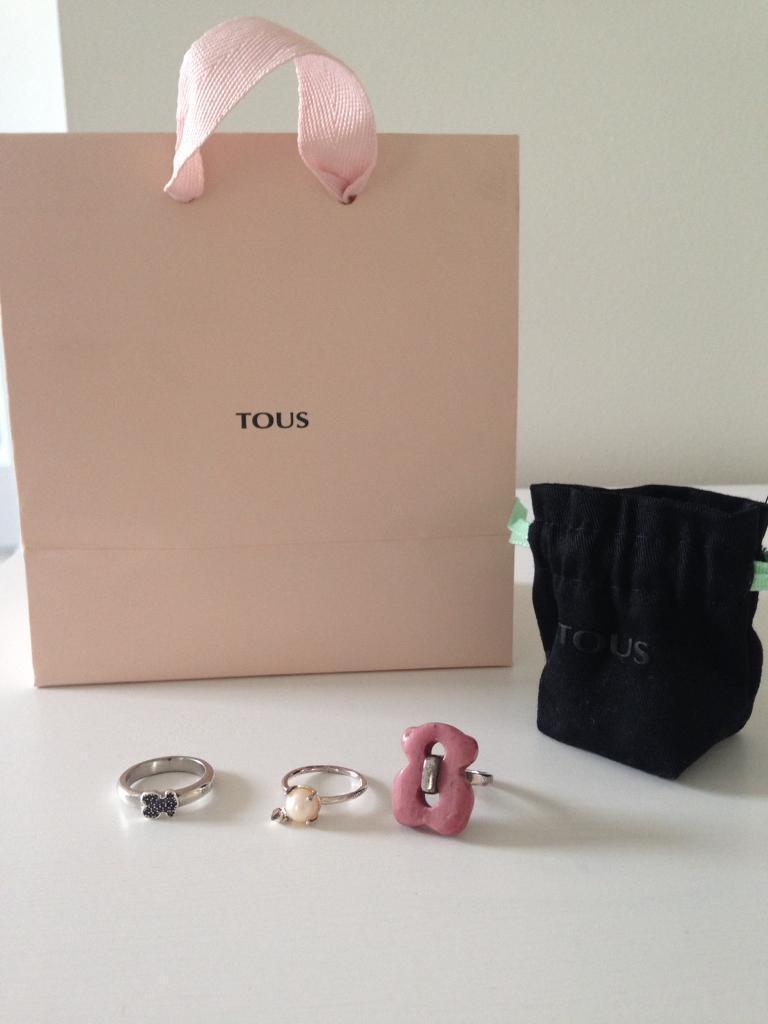TOUS rings