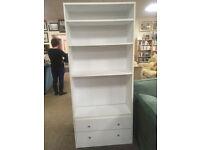 White MDF Bookcase