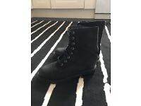 Ladies leater shoes All saints size 5