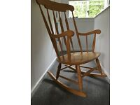 John Lewis rocking chair immaculate condition