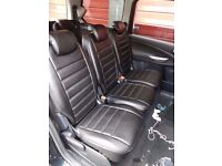 FORD GALAXY DESIGNER SEAT COVERS,MADE TO MEASURE BY CSC!!!