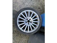 """FORD MONDEO ST JAGUAR 18"""" ALLOY WHEEL AND 235/40/18 GOOD TYRE"""