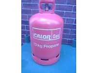 13kg Calor propane bottle,FULL.no exchange needed.