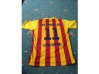 Barcelona away football kit Neymar Jr shorts shirt spanish spain replica player