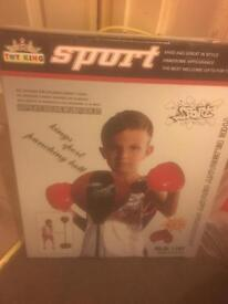New kids boxing set