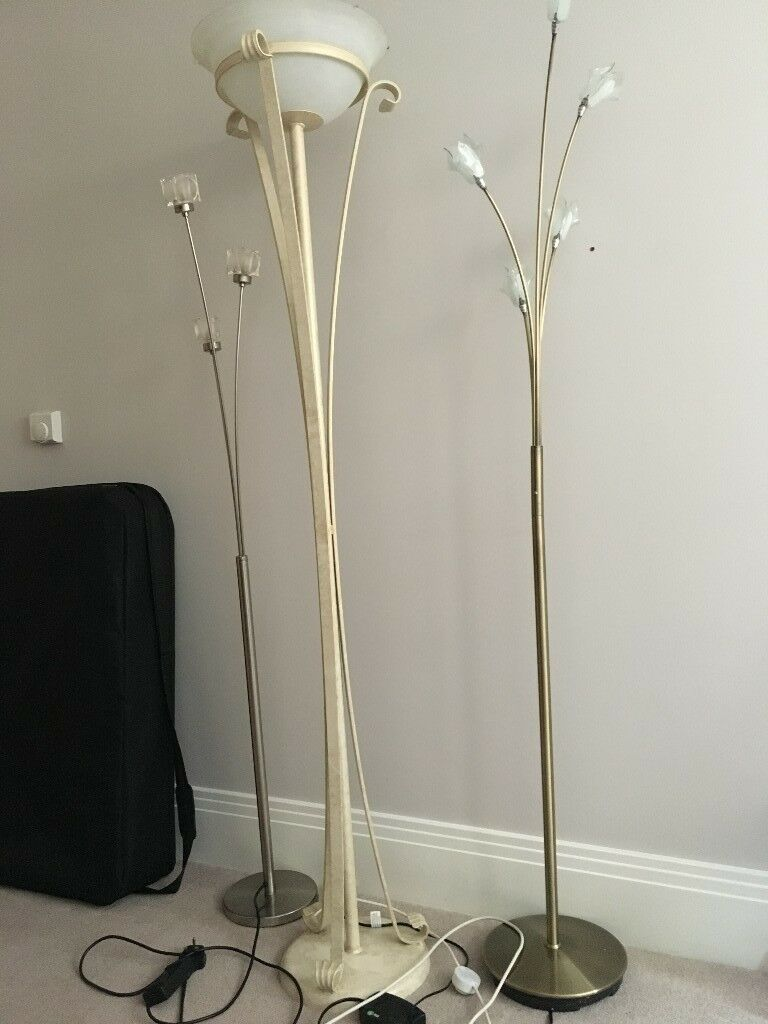 Lighting Uprights x 3 (Tall Floor Lamps)