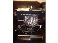 40gb boxed ps3 and games £75 o.n.o