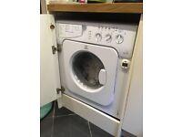 Indesit integrated washing dryer IWDE 126