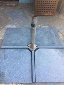 John Lewis Parasol base (granite)