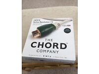Chord hdmi cable
