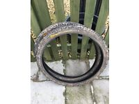 PAIR OF 26 INCH X 2.3 CONTINENTAL GRAVITY TYRES